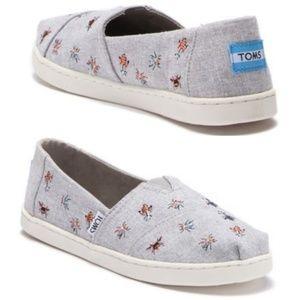 Toms Shoes Slip-On Vegan Alpargata 2.5